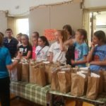WAMC Summer Enrichment - St. Stephen RC Church Religious Ed Students Donate Lunch & Time