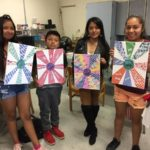 WAMC Summer Enrichment - Art Therapy Lesson Used to Promote Positive Self Imaging.