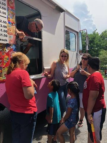 The Ice Cream Truck Visits the WAMC Every Friday