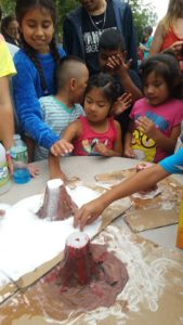 WAMC Students Learn About Volcanoes In Hands On Lab.