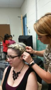 WAMC Summer Enrichrement Students Learn About Cosmetology & Business