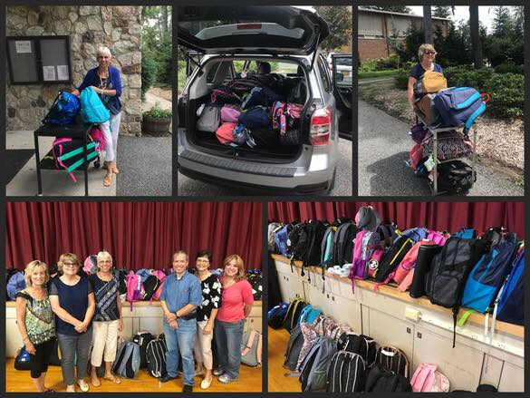 St. Stephen The First Martyr RC Church donated 89 backpacks to the students of the WAMC Program.