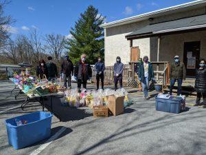 The WAMC delivered 120 Easter Baskets last weekend!